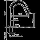 Kiruna / Tratto fonteinkraan | aged copper